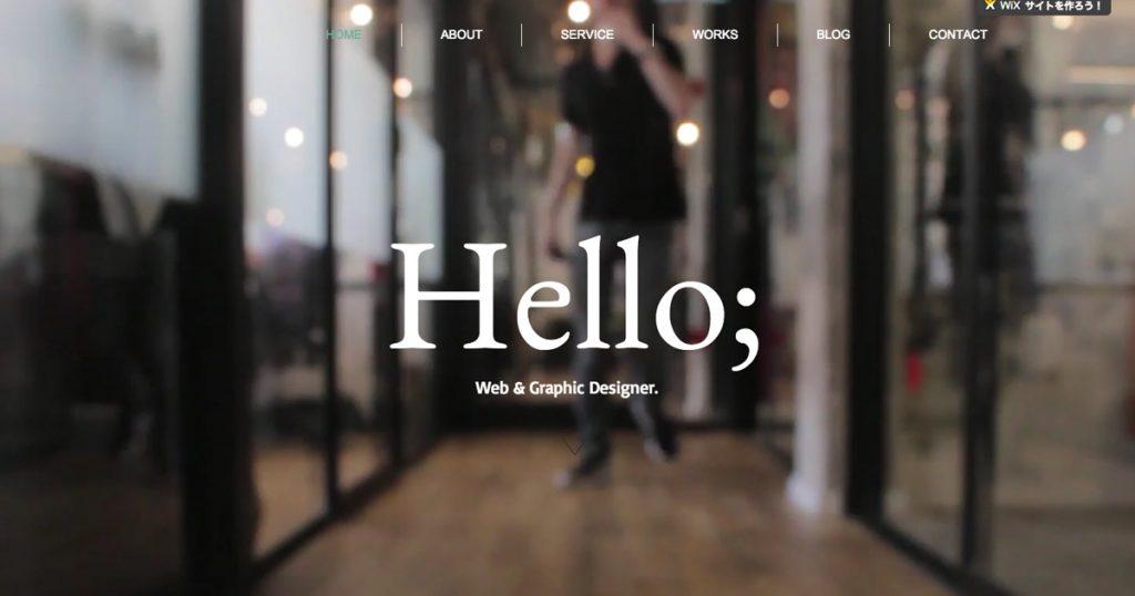 無料ホームページ制作ツールWixを使って30分でサイトを作ってみた