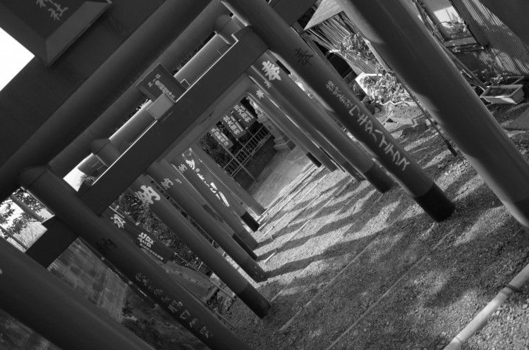 Ricoh GRで撮影した神社